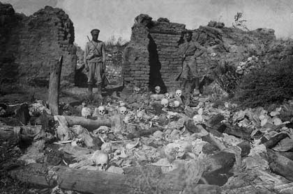The Recognition Of The Genocides As The Beginning Of Justice Against The Crimes Against Humanity And Barbarity Armenians Burnt Alive In Sheykhalan By Turkish Soldiers, 1915