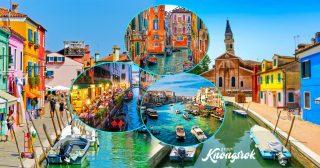 មួយជីវិតគួរស្គាល់ឱ្យបានម្តង Venice ប្រទេសអ៊ីតាលី ទីក្រុងចម្រុះពណ៌លើទឹក ដែលមានសម្រស់ស្រស់ស្អាតជាងគេនៅលើលោក
