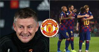 ក្រុមបិសាចក្រហម Manchester United កំពុងប្រជែងទិញតារាឆ្នើមម្នាក់របស់ក្រុម Barcelona